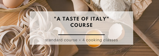 A taste of Italy course