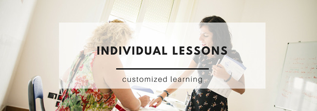 individual lessons